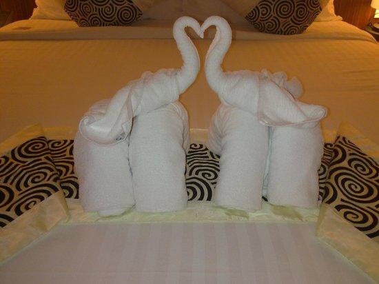 Beyond Resort Krabi: Elephants on Bed... Room Villa