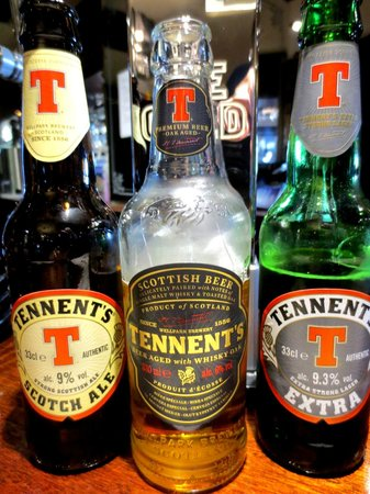 Tennents Wellpark Brewery: Can't wait for the new Tennent's to be released in Canada!
