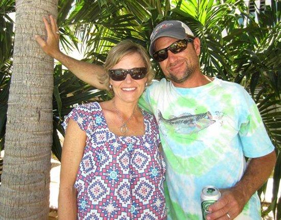Coral Paradise Resort: Us at Coral Paradise