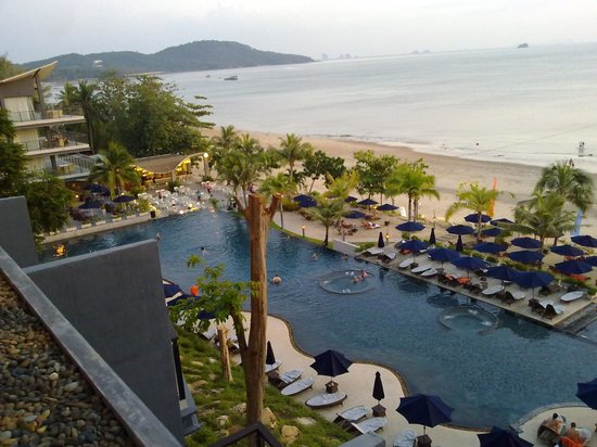 Beyond Resort Krabi: A view down from the Lobby