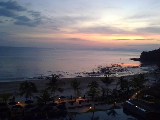Beyond Resort Krabi: Sundown from Hotel