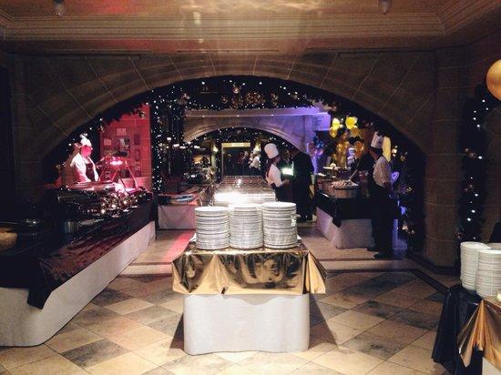 Van der Valk Hotel Hildesheim: Buffet til nytårsarrangement 2013/2014