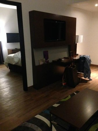 Novotel Panama City: Big rooms