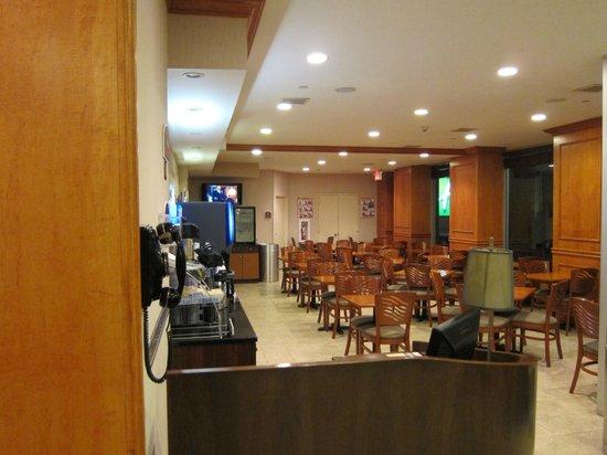 Restaurante Picture Of Holiday Inn Express New York City Chelsea New York City Tripadvisor
