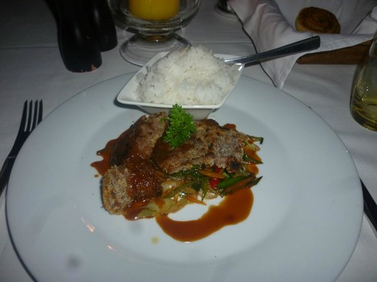 Angsana Balaclava Mauritius: Dinner meal