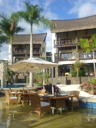 Angsana Balaclava Mauritius: View from pool