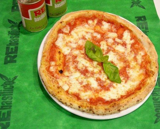 REbasilico Cernaia: Pizza margherita