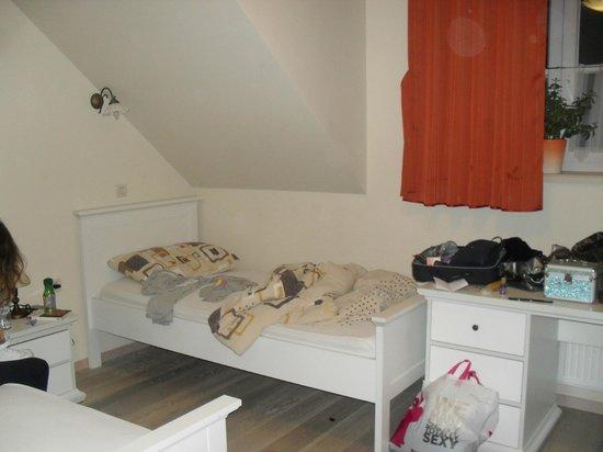 Pension Jelen 1887 : camera da letto