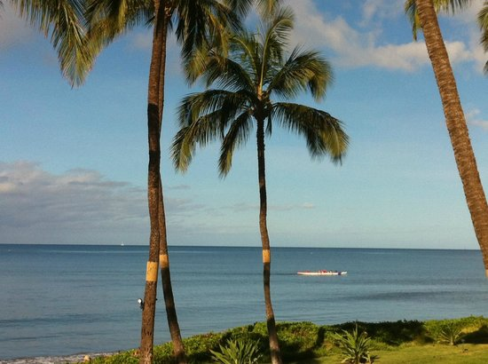 Kihei Sands Beachfront Condominiums: Another beautiful day in paradise