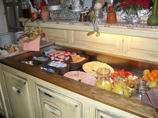 Pension Jelen 1887: colazione a buffet
