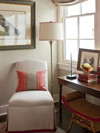 The Inn at Fontanel: Queen Suite Sitting Area