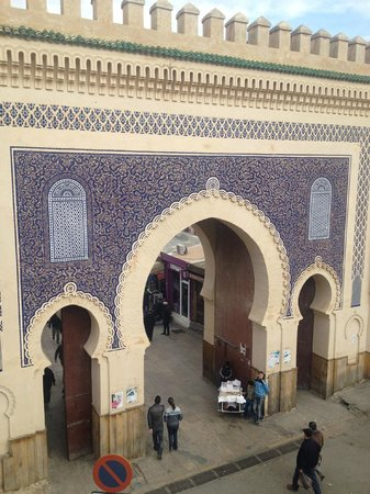 Medina Cafe : Vue de la terrace du restaurant