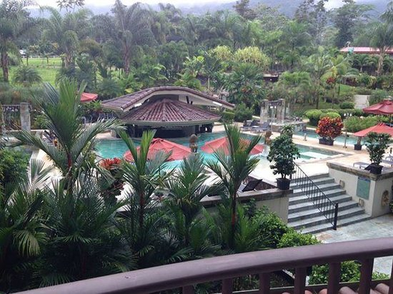 The Royal Corin Thermal Water Spa & Resort: view from my balcony - daytime