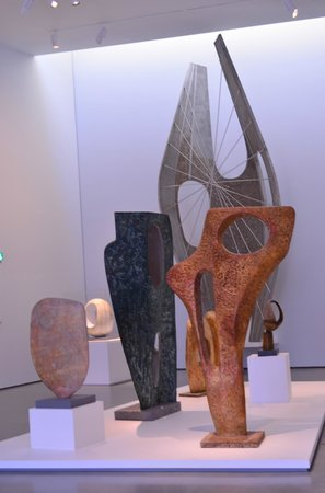 The Hepworth Wakefield: Iconic Barbara Hepworth - working models for bronze sculptures.