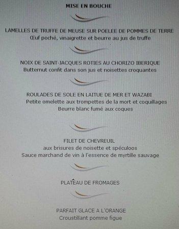 La Gaichel: Le menu dégustation