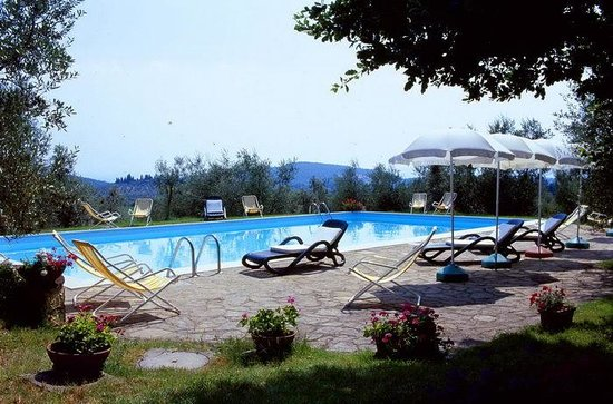 Casa Sola - Chianti Winery: Swimmingpool