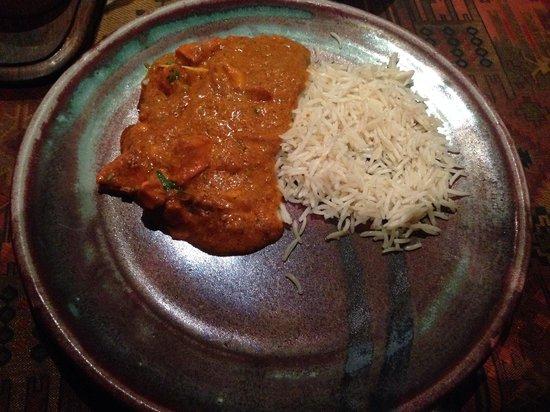 New Anarkali : Svært liten porsjon Tikka Masala (Men god smak!)