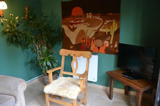 Hosteria Kau Kaleshen: Sala de estar