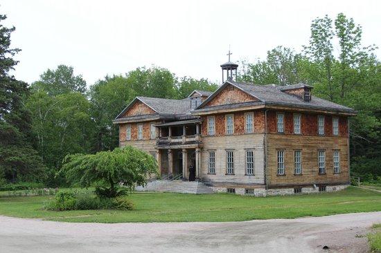 Village historique de Val-Jalbert: L'école