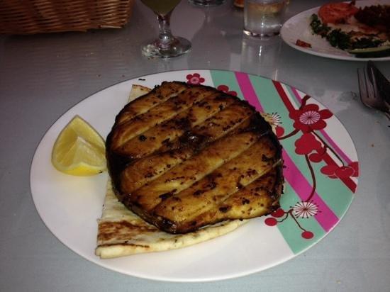 Turkish House Restaurant: un délicieux steak de poisson!