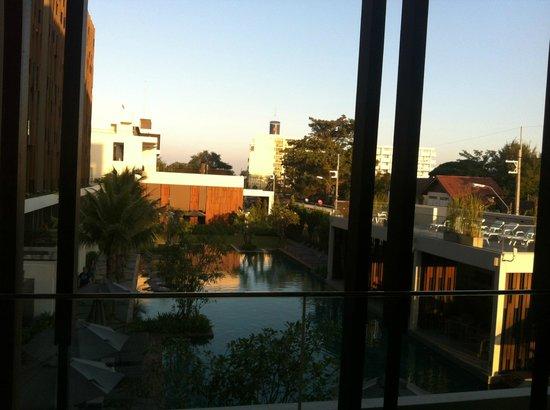 G Hua Hin Resort & Mall : view from balcony (2nd floor)