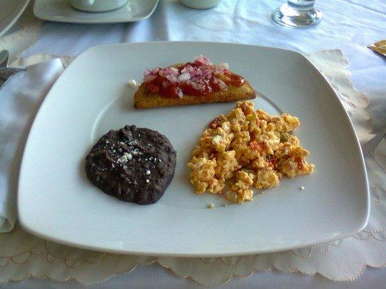Casa Tía Micha: Plato de desayuno