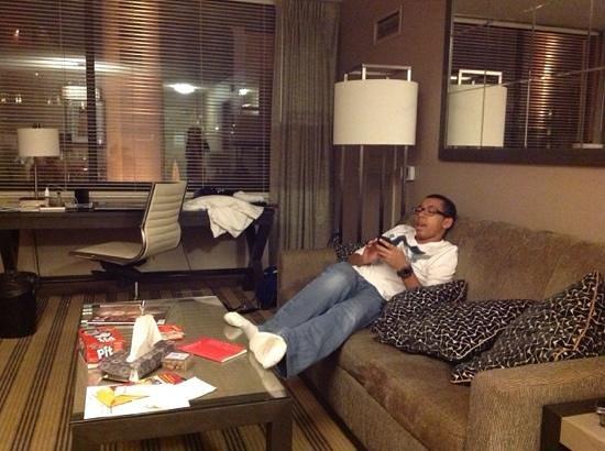 Avenue Suites Georgetown: comfortable room
