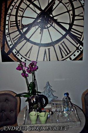 B&B Le Foulage : Cuidada decoración