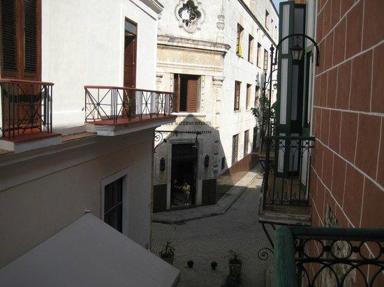 Hotel Conde de Villanueva: View from the room