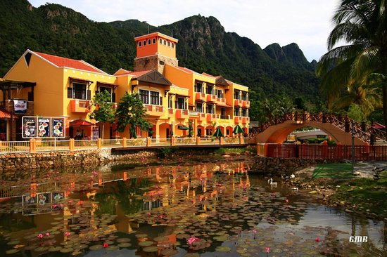 Geopark Hotel Langkawi: The hotel's exterior