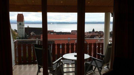 Hotel Mohren: Ausblick auf den Balkon