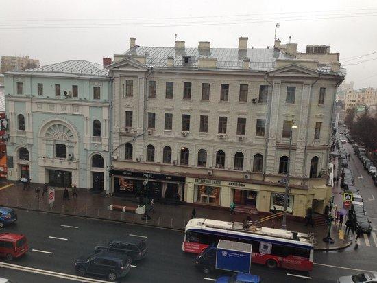 InterContinental Moscow Tverskaya Hotel: outside main street