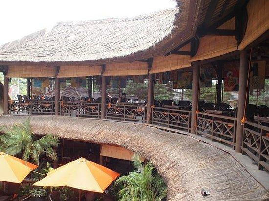 Taman Restaurant: 2nd floor