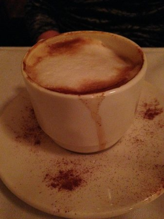 Cappucino @ Michael's Trattoria, 344 Center St, Wallingford, CT