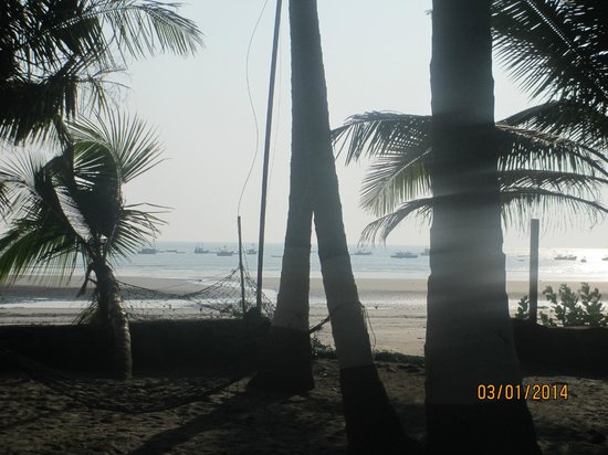 Subhan Beach Resort: View from Newly constructed rooms