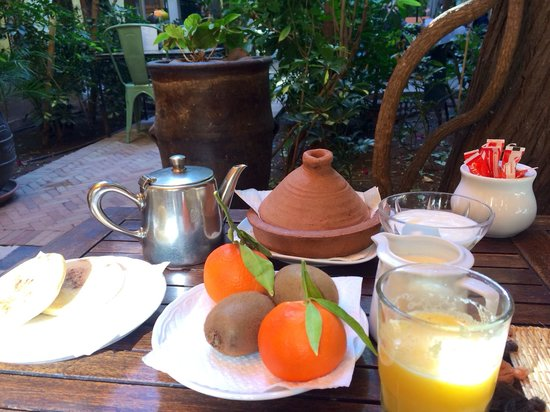 Riad Malika : Breakfast