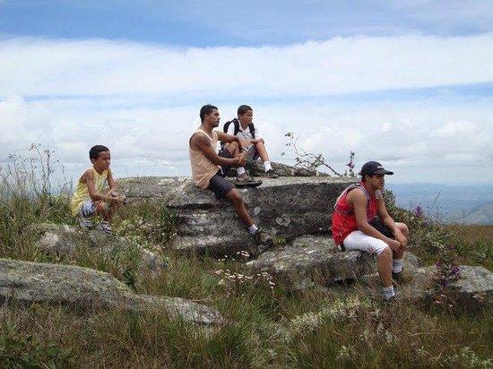 Parque Estadual do Ibitipoca : Pausa com vista fantástica