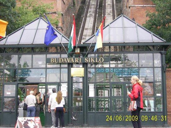 Buda Hill Funicular : Ticket office