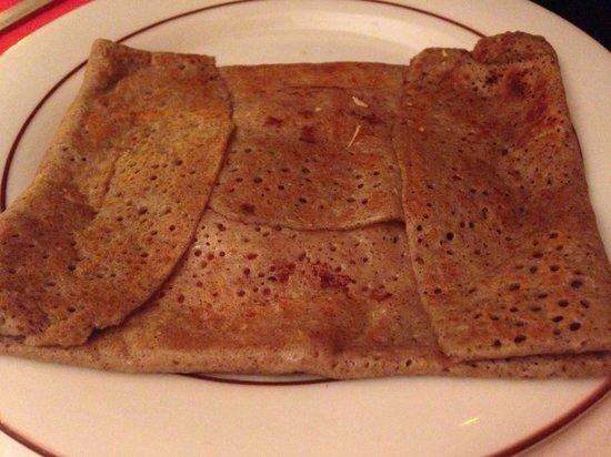 Flagrant Delice: La crêpes con prosciutto e formaggio