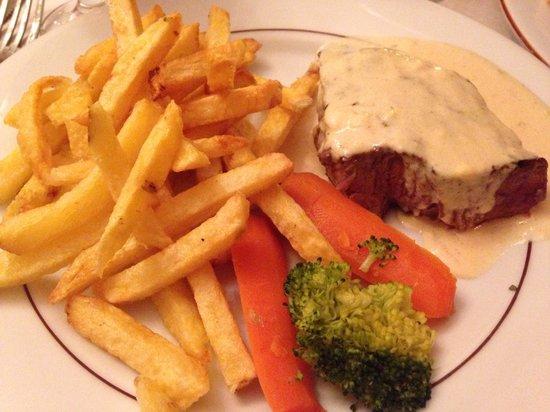 Flagrant Delice: Filetto con salsa di fromage roquefort