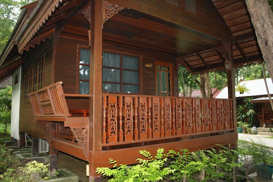 Vongdeuan Resort : тай-домик