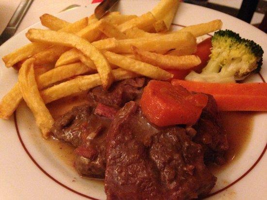 Flagrant Delice: Boeuf bourguignon con patate