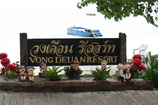 Vongdeuan Resort : территория