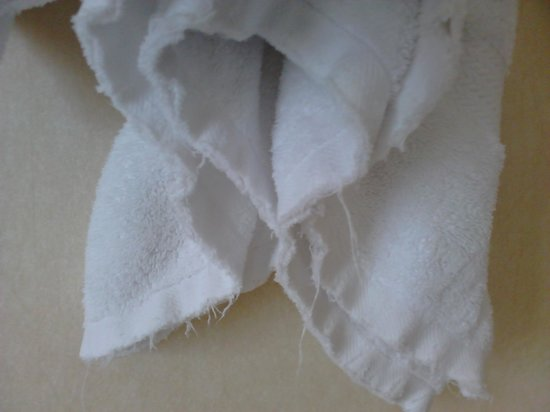 The Westin Kuala Lumpur: Worn towels - 5 stars?