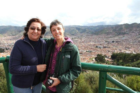 Hostal Quipu Cusco: Con Lida