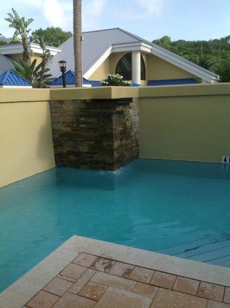 The Westin St. John Resort: Our private pool