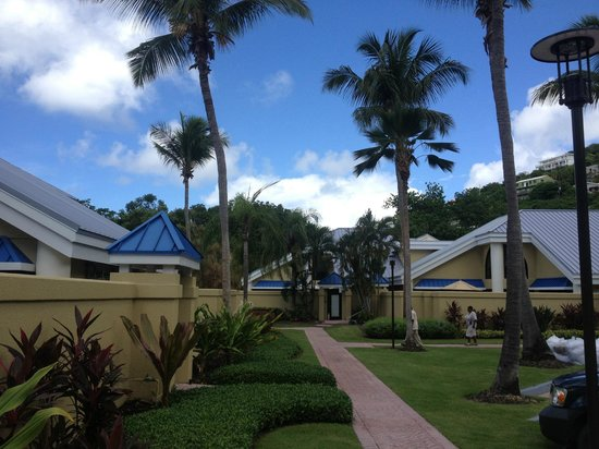 The Westin St. John Resort Villas: Our villa in the back