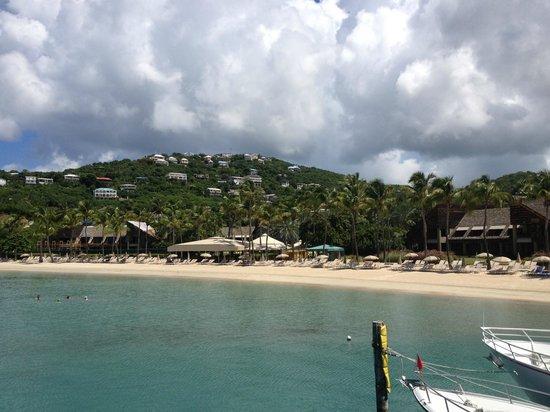 The Westin St. John Resort Villas: Beach area
