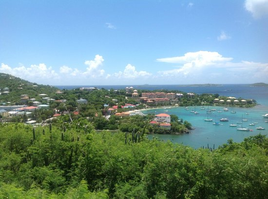 The Westin St. John Resort Villas: This view was the best