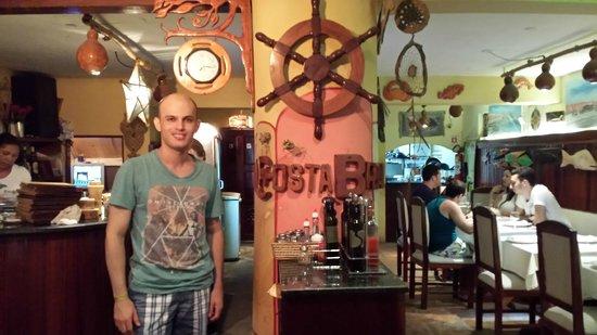 Costa Brava : Entrada para o restaurante